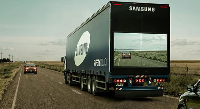 Safety Truck – Le camion innovant de Samsung