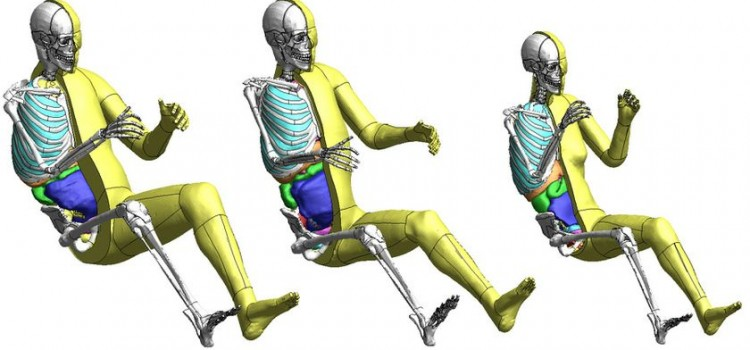 Toyota modélise les positions du corps par des mannequins virtuels