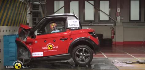 Crash test : le point sur les véhicules sans permis