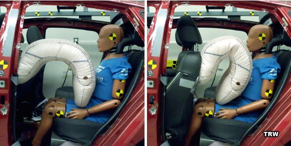 Innovation airbags : Améliorer la sécurité des passagers arrière