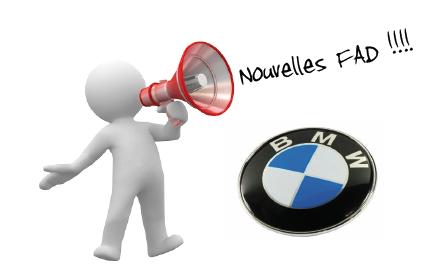 Nouvelles FAD BMW !