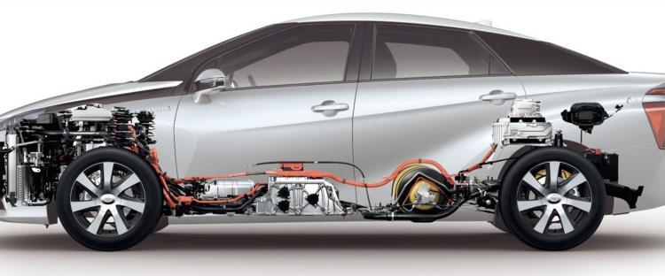 Toyota commercialise la Mirai : véhicule hydrogène