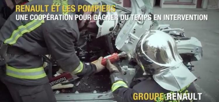 Renault collabore avec les Sapeurs-Pompiers