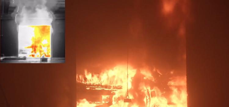 Premier brûlage VL en milieu clos – Rapport complet et vidéo