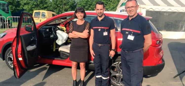 Renault offre un Kadjar pédagogique aux JT IUV