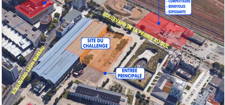 Challenge National SAP et SR à Nantes : le plan de l'évènement
