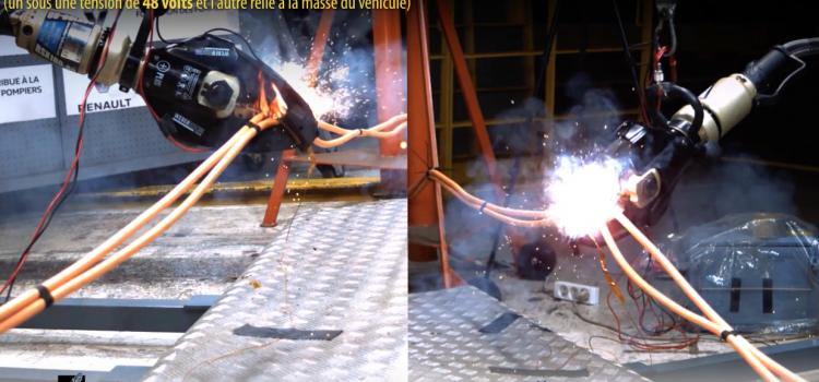 Vidéos pédagogiques : fruit d'une collaboration sapeurs-pompiers / Constructeurs