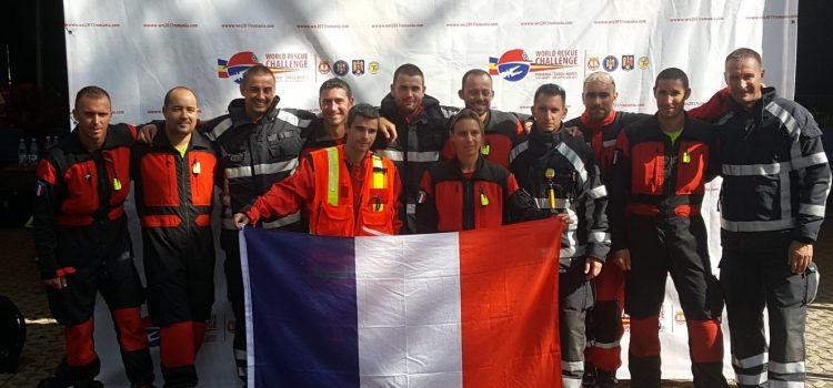 Le SDIS 86 et 44 en Roumanie pour la compétition mondiale WRC
